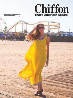 Chiffon by #AmericanApparel   #advertisement #PinATripWithAA
