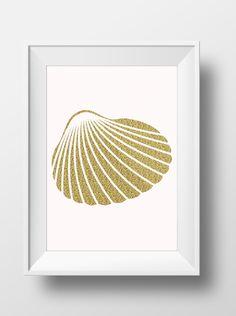 Sea Shell Art Print for a Home Decor