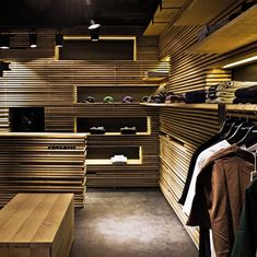 Carhartt store by Francesc Rife Barcelona. Visit City Lighting Products! https://www.facebook.com/CityLightingProducts