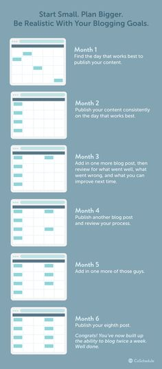 For excellent proof that content marketing works, let these nine - social media calendar template