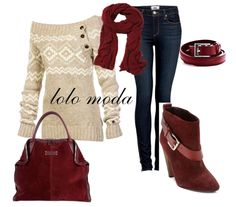 I love this outfit.. just beautiful!! :) LOLO Moda: winter fashion 2013
