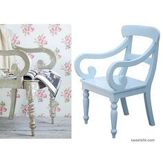 """""""A little pretty for you ... Our Catherine Chair in sky blue. #sweetelle #kitchen #blue #handmadefurniture #cottagefurniture #interiors #design #designer #cottagelife #countryliving #pretty #furniture #madeinusa"""" Photo taken by @_sweet_elle_ on Instagram, pinned via the InstaPin iOS App! http://www.instapinapp.com (02/04/2016)"""