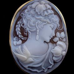 Pretty Cameo. I love the femininity and softness of cameos and have one that is dear to me from my mother.