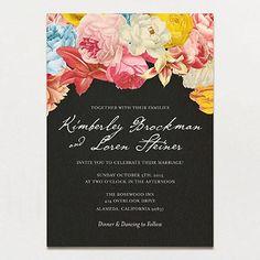 Dramatique Wedding Invitation | Printable Press