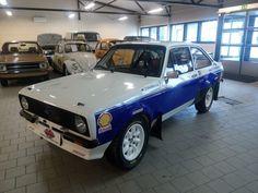 ford escort bda rs1800 group 4 fia historic rally car
