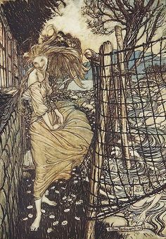 "Illustration by Arthur Rackham | Flickr - Photo Sharing!From ""Undine"""