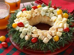 Christmas Wreath Mini Breads