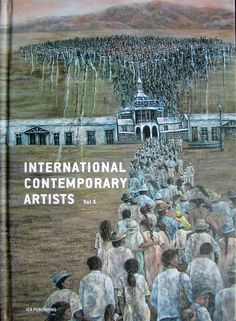 Published artwork by Nada Hribernik-Godler on pages 128 and 129. International Contemporary Artists vol X. ICA Publishing
