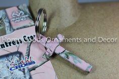 Stahl Cross HUNTRESS Camo KEY CHAIN/Ring Pink Pendant NEW Realtree APC KEYCHAIN picclick.com