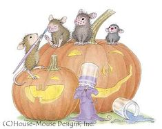 """Monica, Mudpie, Maxwell, Muzzy and Amanda from House-Mouse Designs® featured on the The Daily Squeek® for 11/13/2013 Click on the image to see it on a bunch of really """"Mice"""" products."""