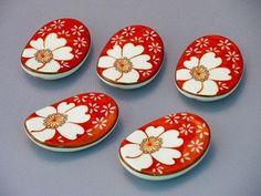 Hashioki (chopstick rest)...........pretty. maybe a card idea?