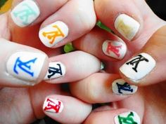 LOUIS VUITTON NAIL ART - Google Search