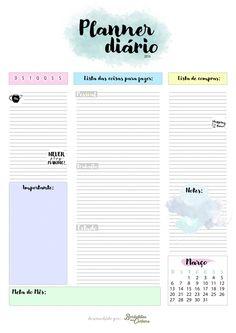 Planner Diário - Borboletas na carteira