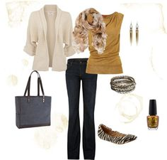 Adorable business casual look!