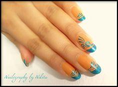 Freehand design by Nailography - Nail Art Gallery nailartgallery.nailsmag.com by Nails Magazine www.nailsmag.com #nailart