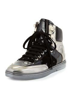 a34caaf9395 Bradley Men s Metallic High-Top Sneaker