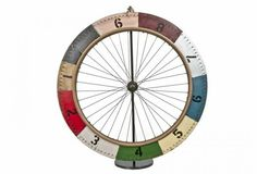DIY ? Vintage Handmade Carnival Gaming Bicycle Wheel