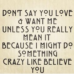 I'm crazy like that :)