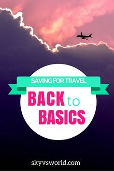 A few simple ways I'm taking my bank account from 0 to the highest it's ever been in preparation for my next trip.
