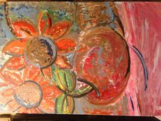 Artwork created May 14, 2013 at the Maitland Art Center.