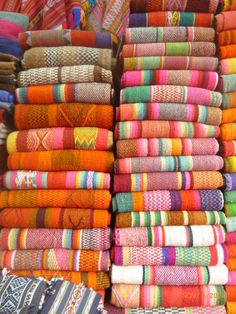 Peruvian Frazadas - You pick! We deal direct with the artisans.