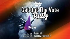 2 FEB - 3 est LIVE from the Keene, NH Rally with Bernie Sanders