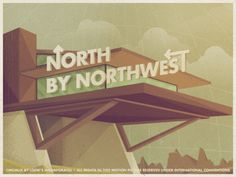 Typography, Vintage, North, House