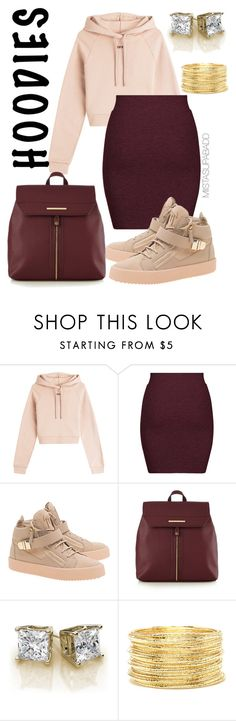 """Untitled #100"" by tevin-parrish ❤ liked on Polyvore featuring Off-White, New Look, Giuseppe Zanotti, Red Herring and Forever 21"