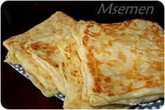 No idea what this is.pinning it anyway cuz it looks tasty Crepes, Kitchen Recipes, Cooking Recipes, Morrocan Food, Algerian Recipes, Ramadan Recipes, Bread And Pastries, Arabic Food, Food Inspiration