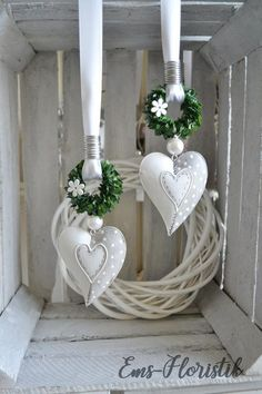 Window decoration metal heart 10 x 8 cm, curved shape with book wreath, grey-white House & Garden grey gardens house for sale Grey Gardens House, White House Garden, White Gardens, Book Wreath, Diy Wreath, Heart Wreath, Paper Flower Wreaths, Paper Flowers, Couronne Diy