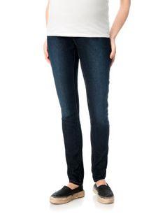 Motherhood Maternity Under Belly 5 Pocket Skinny Leg Maternity Jeans