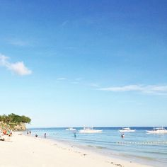 Please take me to the beach  Alona Beach on Bohol would be the perfect spot for me right now.  Check out my blog to know what to do on Bohol Island ☀️ Link In Bio ☀️