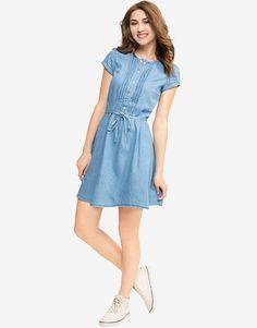 медиум. Gurvir Jatana · Dresses design · Yumi London Embroidered Chambray  Dress on HauteLook Casual ... 1be501816cad