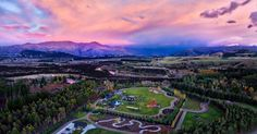 What a beautiful sunrise in Wanaka New Zealand today! This is a photo I got with the quadacopter (that's what my daughter calls it). We just finished doing a FB Live show from this amazing location below. Check my Facebook page if you wanna see the video! :) This place is called Horseshoe Bend Estate  what a spot! #LoveWanaka  #ReleaseWanaka by treyratcliff