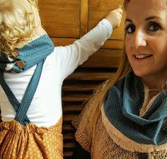 Bebé y mamá coordinados con cuellos LAPÁN LAPÁN www.lapanlapan.es