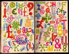 Lettering Sketchbook