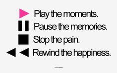rewind happiness