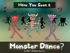 Have You Seen a Monster Dance? (SILLY RHYMING BOOK about MONSTERS) by Uncle Amon. $3.49. Publisher: Hey Sup Bye Productions (March 3, 2013). 27 pages. Author: Uncle Amon