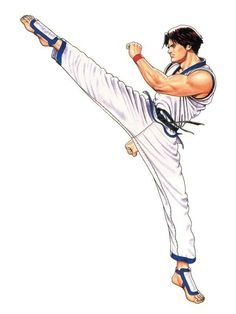 Art Of Fighting, Fighting Games, King Of Fighters, Black Belt Taekwondo, Samurai, Arte Peculiar, Character Art, Character Design, Martial Arts Techniques