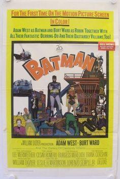 Batman - original release US Onesheet movie poster