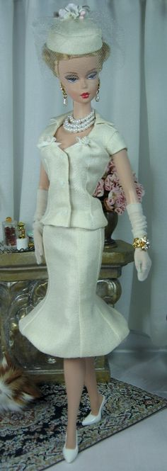 Winterbloom for Silkstone Barbie and similar size dolls on Etsy now