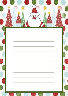 christmas letter template 20 Free Printable Letters to Santa Templates Free Printable Santa Letters, Christmas Letter Template, Free Letters From Santa, Santa Template, Letter Templates Free, Free Christmas Printables, Christmas Activities, Christmas Crafts, Letter To Santa