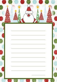 Lettera a Babbo Natale versione 11 da stampare gratis