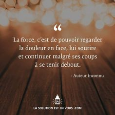Keep your smile (: Citation Courage, Courage Quotes, Quote Citation, Citation Combat, Citation Encouragement, Quotes Francais, Someone Special Quotes, Strong Words, French Quotes
