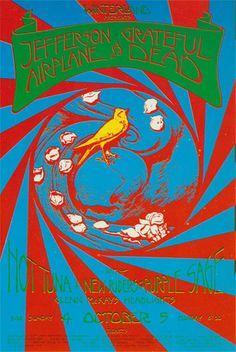 David Singer 10/4/70 Grateful Dead Winterland Handbill