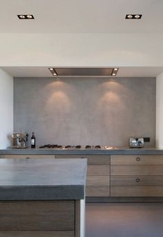 Six ideas for kitchen splashbacks | These Four Walls blog This is an amazing polished plaster