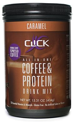 CLICK Coffee Protein Espresso Drink Caramel 1531 Ounce *** Want to know more, click on the image.