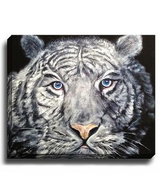 Loving this El Tigre Wrapped Canvas on #zulily! #zulilyfinds