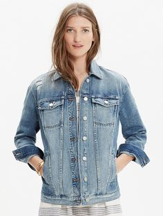 The perfect denim jacket from Madewell.