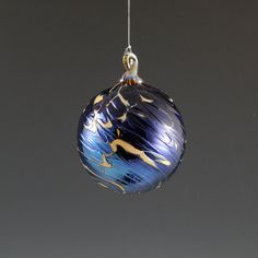 NW Hand-Blown Glass Holiday/Christmas Ornaments by DBRGlassworks